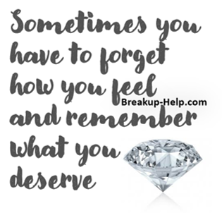breakup quotes to remind you of what you really deserve